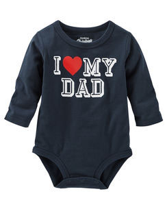 "OshKosh Originals Graphic Bodysuit ""I love my Dad"""