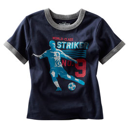 OshKosh Originals Fussball Striped Soccer Tee-Shirt
