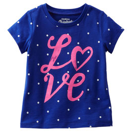 "OshKosh Originals Graphic Tee ""Love"""