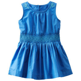 OshKosh 2-Piece Embroidered Poplin Dress