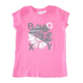 Roxy Big Flower Fun T-shirt, pink