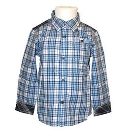 Tommy H. little boy Trevor Checker LS Shirt, multi