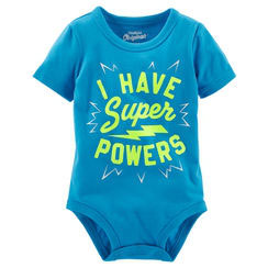 "Oshkosh kurzarm Body ""Super Power"""