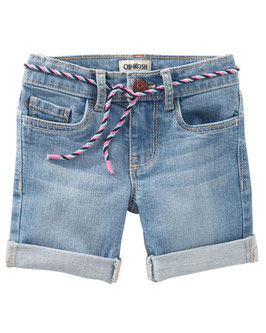 Denim Bermuda Shorts - Nineties Wash