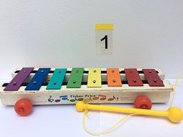 Xylophone à tirer Fisher Price vintage - années 70