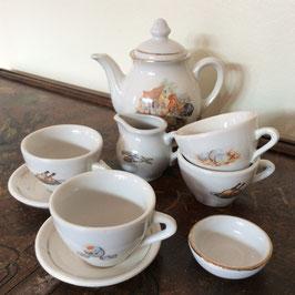 Dinette porcelaine - service à thé - années 60/70