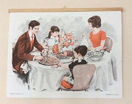 """Série d'affiches scolaires """"prêt à suspendre"""" - années 70"""