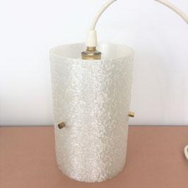Suspension acrylique effet granité - années 60/70