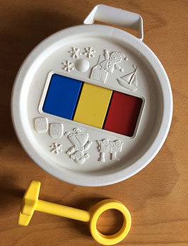Tambour-Xylophone Fisher Price vintage - années 70