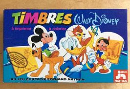 Boite de tampons Disney - Fernand Nathan - années 80