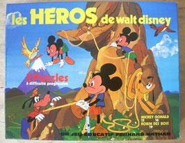 Boite de 3 puzzles Disney - Fernand Nathan - années 80