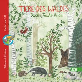 Tiere des Waldes - Dachs, Fuchs & Co.