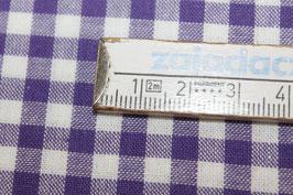 Baumwolle lila/weiß Karo 502510/44E
