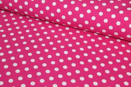 Jersey pink mit weißen Punkten 200146/10
