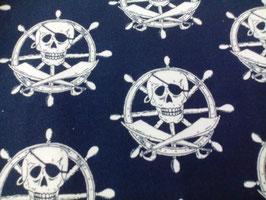 Jersey blau Steuerrad / Totenkopf 900156/10