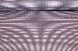 Baumwolle lila/weiße Karo 502510/44D