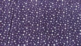 Feinkord blau mit weißen Sternen 300557/21