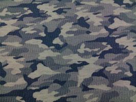 Jersey Camouflage blau