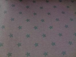 Bündchen  rosa mit Glitzersternen 300440/96