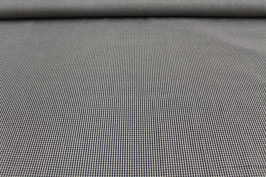Baumwolle schwarz/weißes Karo 502510/90D