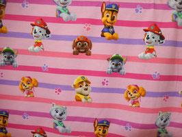 Jersey BW Paw Patrol hinter pink / lila Streifen