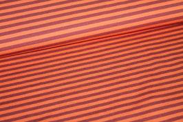 Jersey rote und orangene Streifen 100134/28