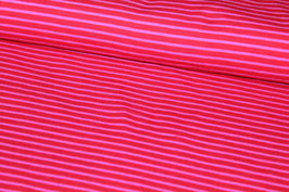 Jersey pinke und rosa Streifen 100146/43