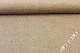 Polsterstoff uni beige braun 001270/71