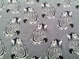 Jersey grau mit Zebras 600180