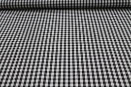 Baumwolle schwarz/weißes Karo 502510/90B
