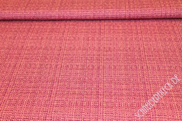 Polsterstoff pink gemustert 401245