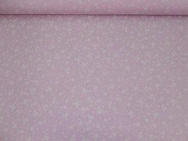 Baumwolle Blümchen rosa 700341