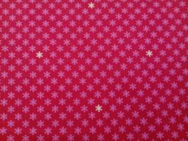 Baumwolle pink Blümchen