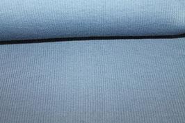 Bündchenstoff ~graublau~
