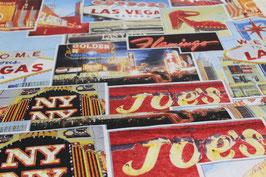 Dekostoff  Las Vegas  1,40 m breit