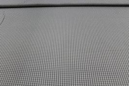 Baumwolle grau/weißes Karo 502510/80