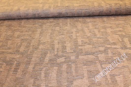 Polsterstoff braun gemustert 401271C