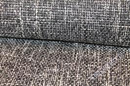 Polsterstoff grau / weiß 401281/10