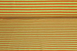 Jersey grüne und orangene Streifen 100164/28