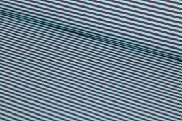 Jersey dünne blaue und braune Streifen 100154/74