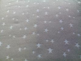 Bündchen beige / weiße Sternchen