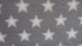 Sweat schwarz - weiße Streifen  mit weißen Sternen