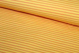 Jersey gelbe und orangene Streifen 100125/28