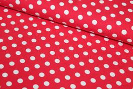 Jersey rot mit weißen Punkten 200132/10