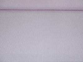 Baumwolle rosa/weiße Streifen