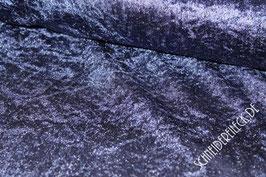 Pannesamt -mitternachtsblau-