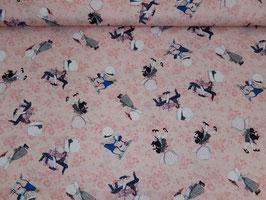 Baumwolle Mädchen rosa 400341
