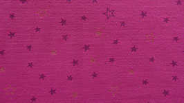 Sweat pink mit lila Sternen