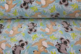 Fleece Kängurus und Koalas 601753