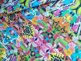 Baumwolle floral Tiere Blumen 400399